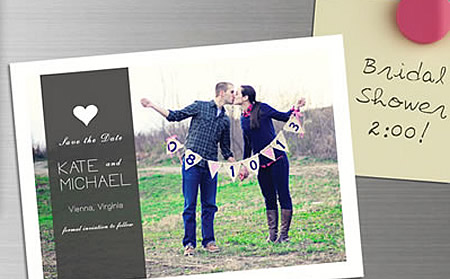 Save the date' wedding ecard from www.katiescards.com